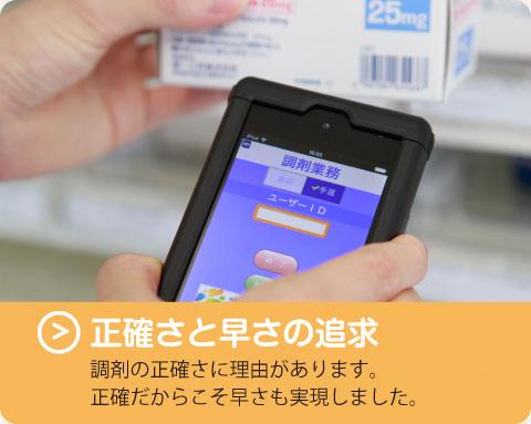 京都あおい薬局のSPEED調剤